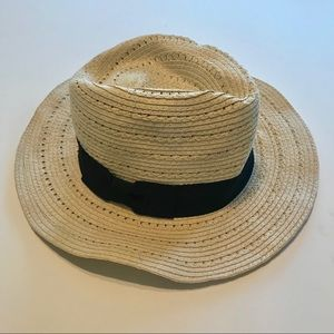 Banana Republic Summer Straw Hat with Bow